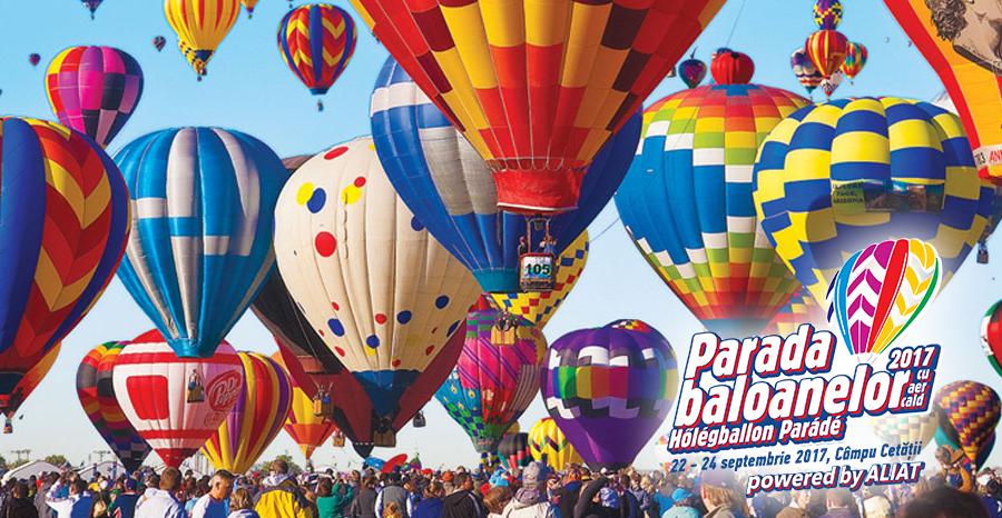 Parada Baloanelor-Transylvania Hot Air Balloon 2018
