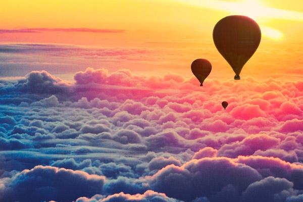 Cum funcționează un zbor cu balonul?