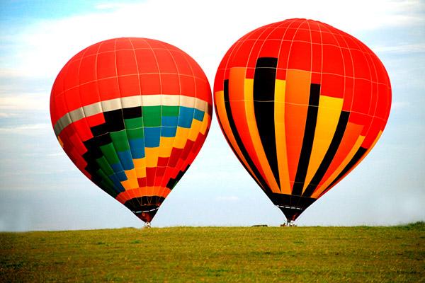 Сколько человек может летать на воздушном шаре?