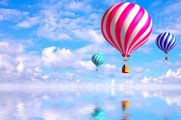 Din ce este compus balonul cu aer cald?